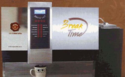 Wagh Bakri Tea Vending Machine With Wagh Bakri Tea Group